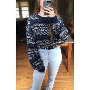 🌿 Vtg 90's Oversized Cozy Boyfriend Sweater 🌿